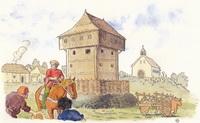 La première résidence seigneuriale au bourg d'Acigné