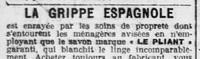 La grippe espagnole dans les journaux départementaux