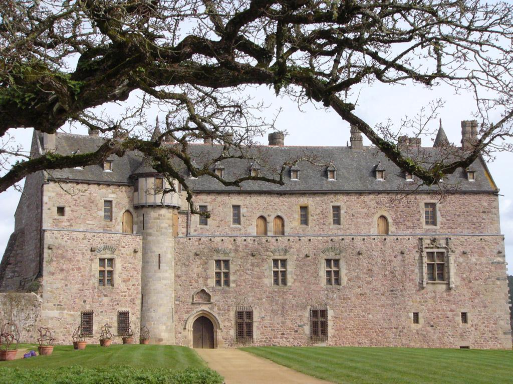 Château de La Roche-Jagu (Côtes d'Armor)