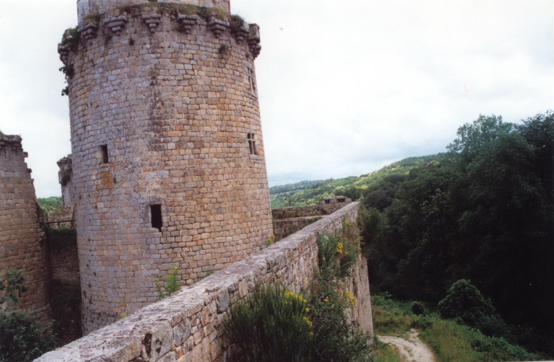 Tour d'Acigné , au château de Tonquédec