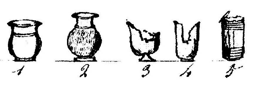 Vases funéraires gaulois