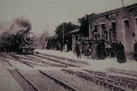 Les débuts de la gare de Noyal-Acigné