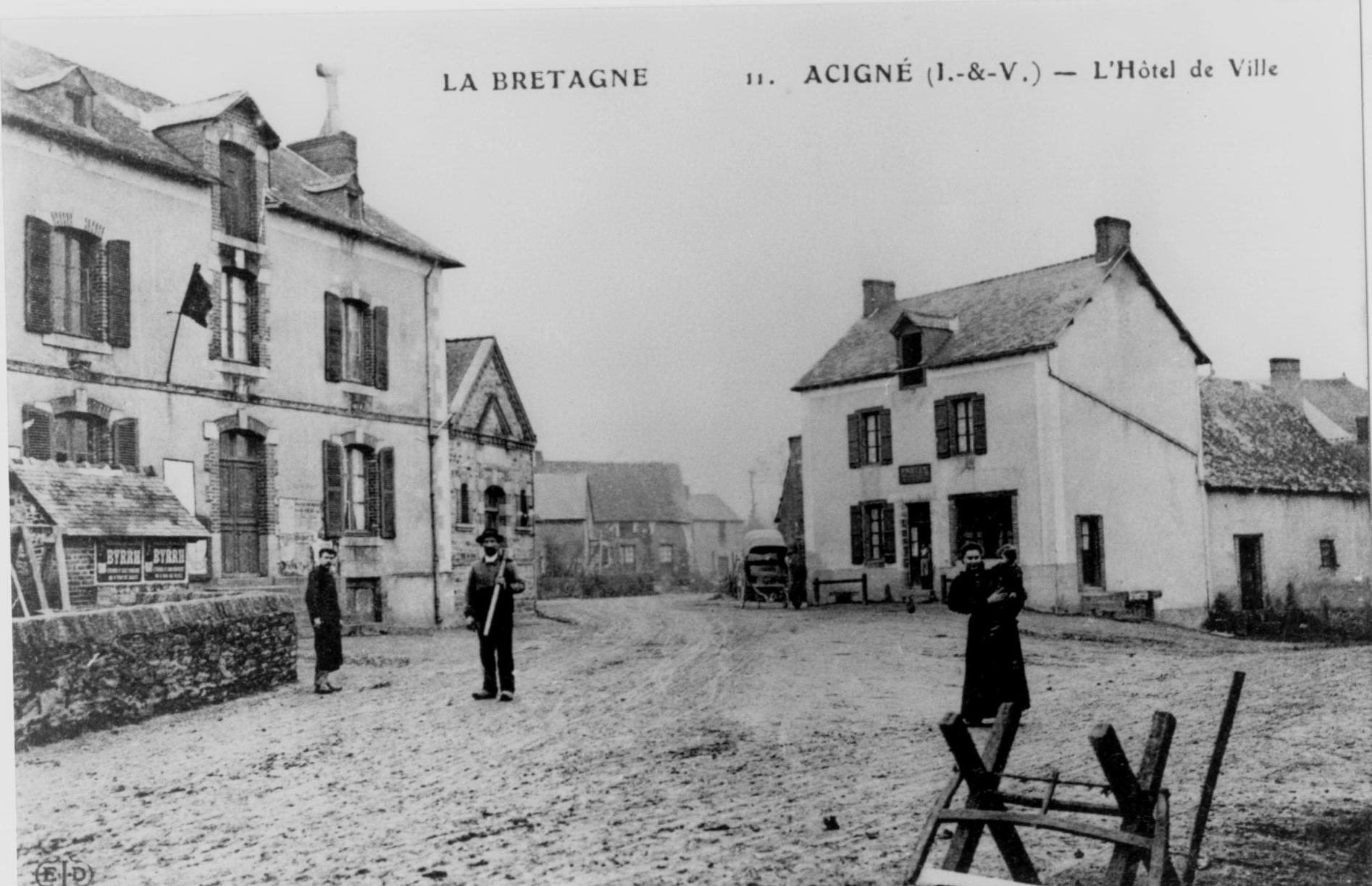 Acigné 1913