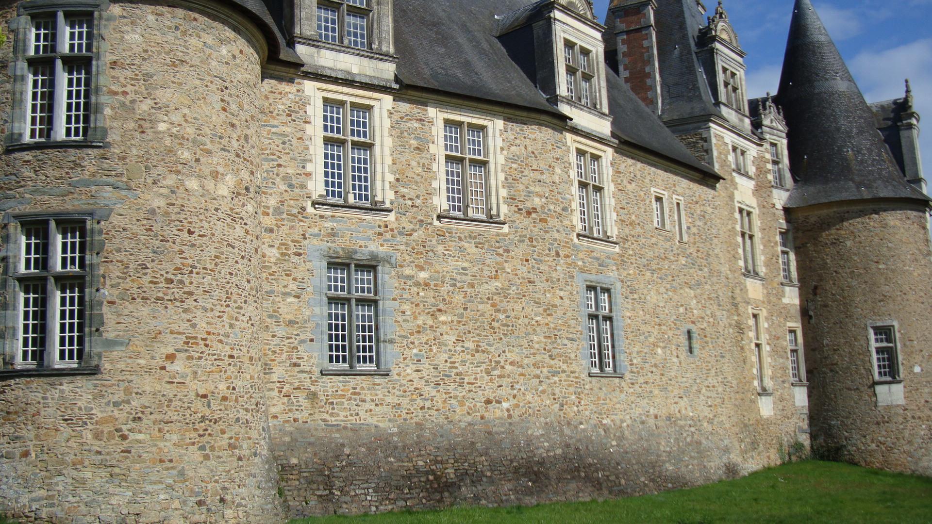 château Renaissance de Châteaubriant.