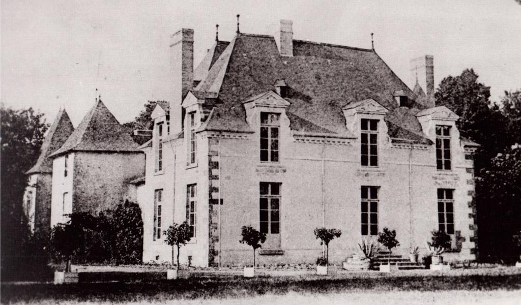 Le logis du château des Onglées.